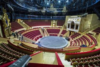 Арена цирка. Фото - Руслан Шамуков/ТАСС