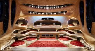 Оперный театр в Харбине. Фото - Hufton+Crow