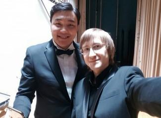 Ариунбаатар Ганбаатар и Дмитрий Маслеев