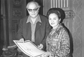 Оливье Мессиан и Ивонна Лорио, 1977 год