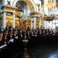 В Ватикане выступил Московский Синодальный хор