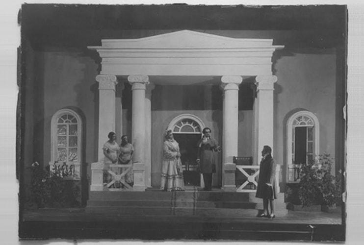 В «Геликон-опере» воссоздали постановку «Евгения Онегина» 1922 года