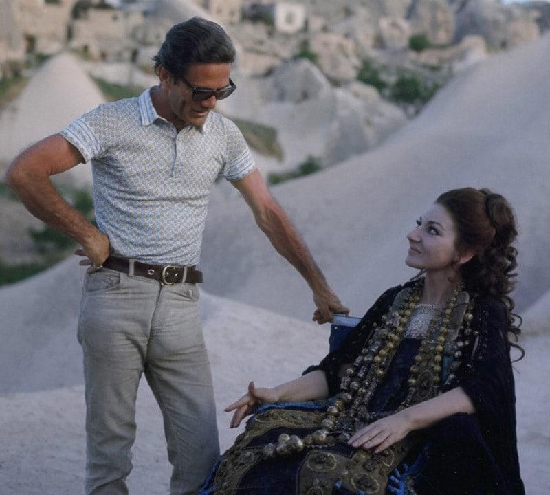 Не все знают, что Мария Каллас играла и в кино. У неё была роль Медеи в фильме по мотивам греческого мифа. Кто был режиссером этого фильма?
