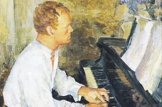 Выставка портретов Святослава Рихтера проходит в его мемориальной квартире в Москве