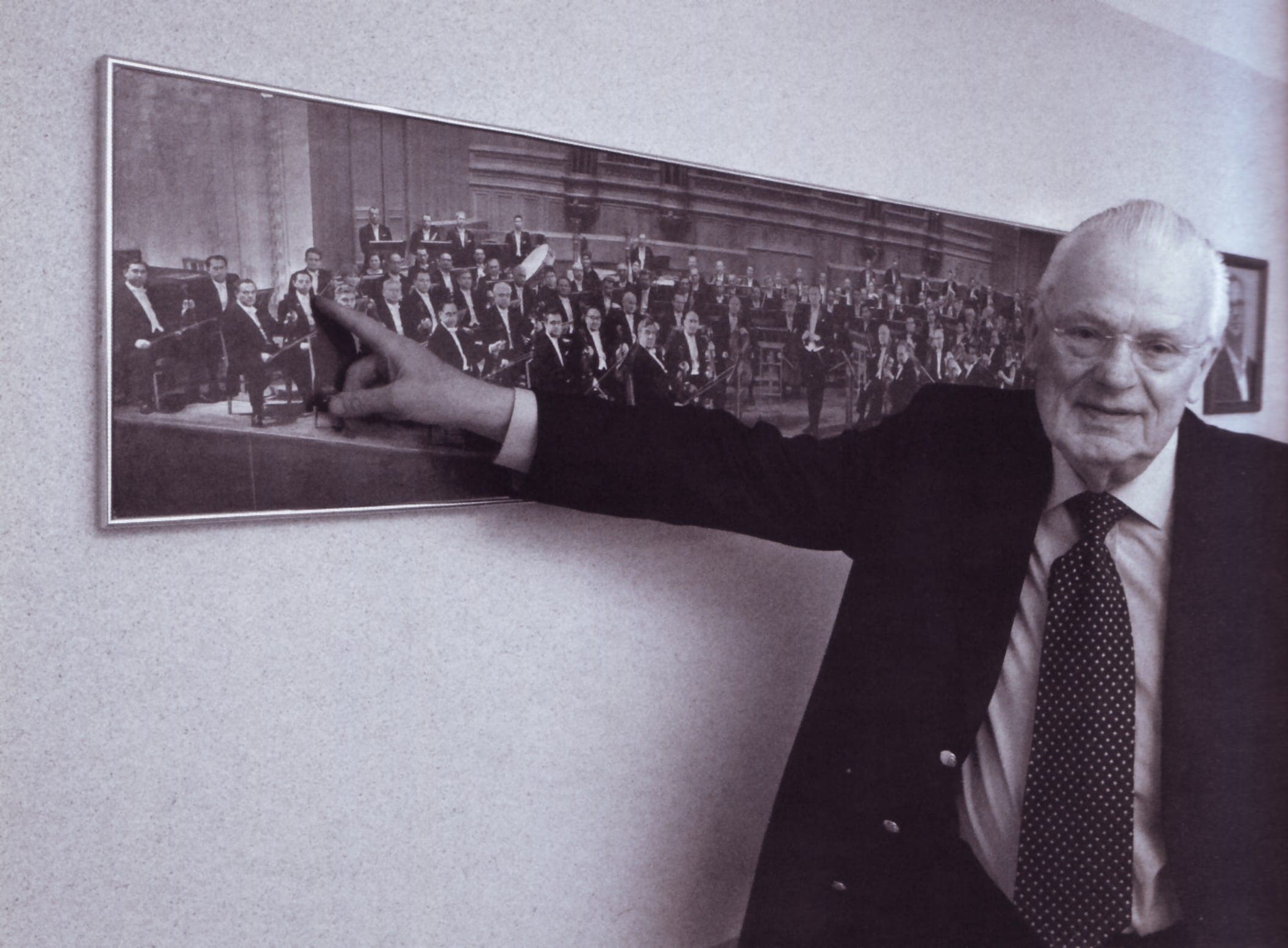 Роберт Бушков и фотография Госоркестра