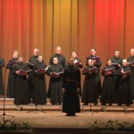 Праздничный мужской хор Новоспасского монастыря