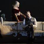 """Сцена из оперы """"Саломея"""". Фото - А. Т. Шэффер"""