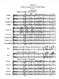 3 декабря состоялась премьера Первого фортепианного концерта Чайковского
