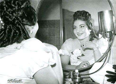 Молодая Мария Каллас