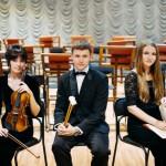 Молодые музыканты симфонического оркестра