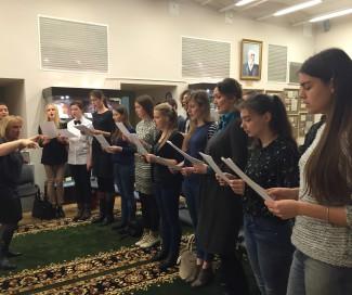 В Российском экономическом университете имени Плеханова возродили хор