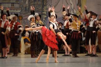 Владимир Шкляров - Базиль, Виктория Терешкина - Китри. Мариинский театр