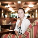Юлия Лежнева на Декабрьских вечерах 2015 года