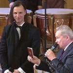 Теодор Курентзис и губернатор Виктор Басаргин