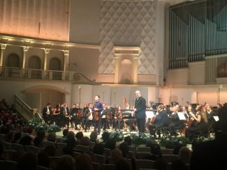 В. Гергиев выступил с оркестром Мариинского театра в Московской филармонии