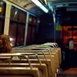 Ночной автобус в Москве