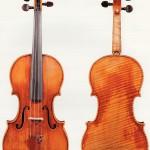 """Скрипка работы Антонио Страдивари """"General Dupont Grumiaux"""" (1727)"""