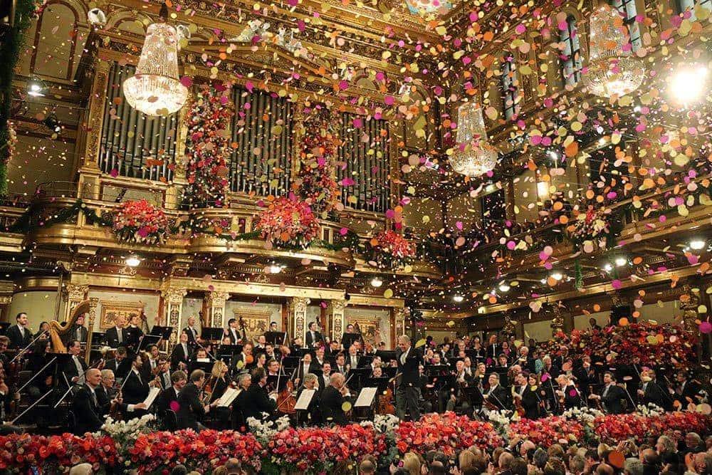 Новогодний концерт Венского филармонического оркестра