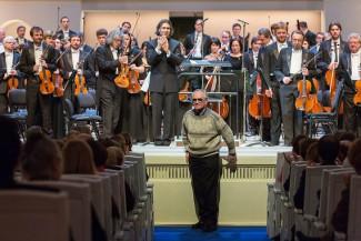 Александр Вустин стал первым в Москве «композитором в резиденции». Фото - Е. Разумный / Ведомости