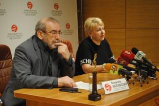 Владимир Калужский и Татьяна Людмилина