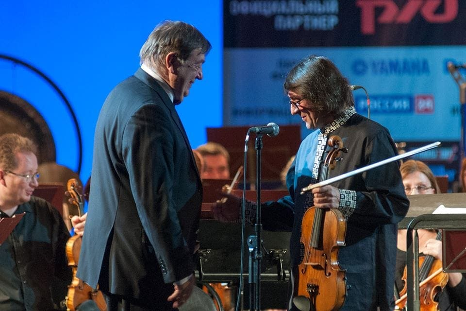 Александр Чайковский и Юрий Башмет. Фото - Светлана Мальцева