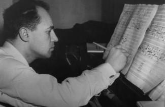Пьер Булез, 1957 год. Фото - Susanne Schapowalow