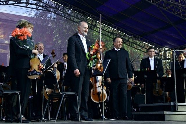 Алексей Бруни, Михаил Плетнев, Российский национальный оркестр