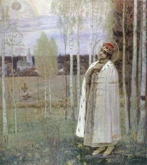 М. В. Нестеров. Дмитрий-царевич убиенный, 1899 год
