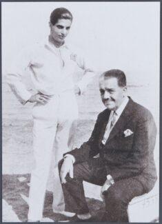Серж Лифарь и Сергей Дягилев