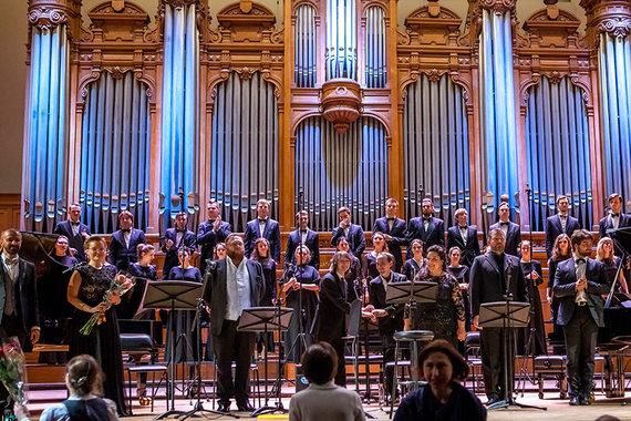 Мессу Россини спел интернациональный квартет солистов. Фото - Ира Полярная / Опера Априори