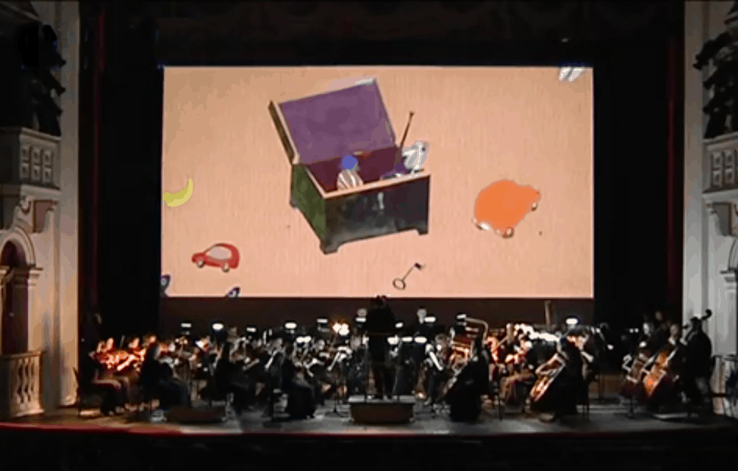 В Пермском оперном показали мультфильм на музыку Чайковского