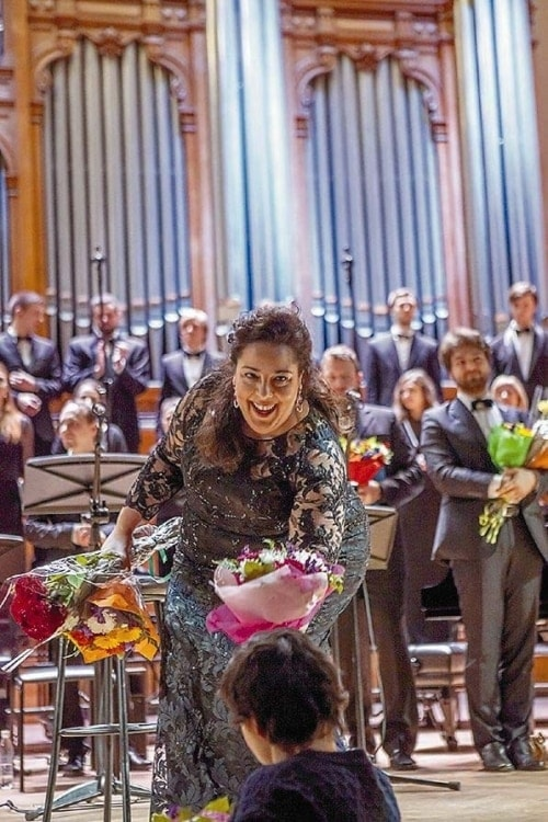 Прекрасно выступила меццо-сопрано из Италии Марианна Пиццолато. Фото: Ира Полярная