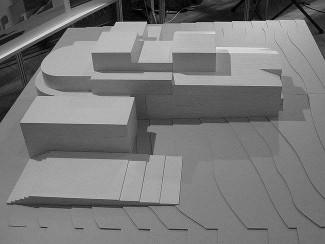 Проект строительства новой сцены. Фото - archi.ru