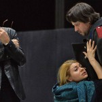 Римас Туминас, Мария Лобанова, Олег Долгов. Фото - Юрий Мартьянов