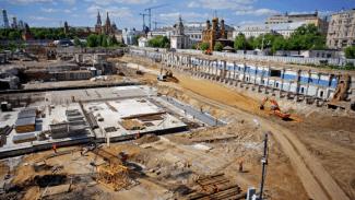 Филармонию в Зарядье строят без утвержденного проекта. Фото: stroi.mos.ru