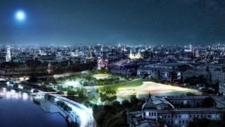 """Проект парка """"Зарядье"""". Фото - пресс-служба Москомархитектуры"""