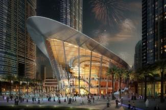 Дубайский оперный театр - эскиз