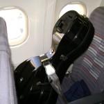 Виолончель в салоне самолета