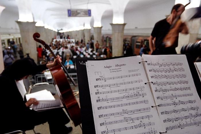 В Москве начался отбор музыкантов, желающих выступать в метро