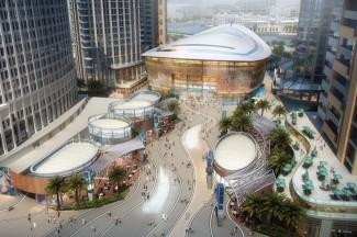 Дубайский оперный театр - часть Оперного квартала