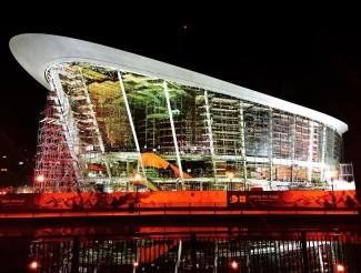 Дубайский оперный театр: строительство подходит к завершению