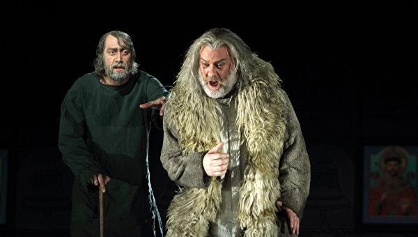 Брин Терфель в роли Бориса Годунова. Фото: Catherine Ashmore