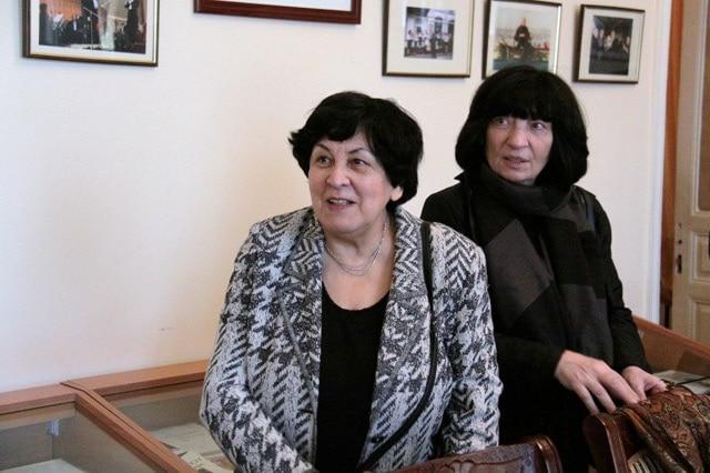 Наталия Гутман и Элисо Вирсаладзе