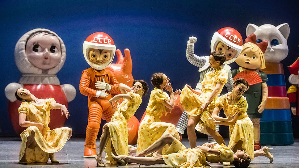 Иоланта/Щелкунчик в постановке Дмитрия Чернякова. Фото - Agathe Poupeney / Opera national de Paris