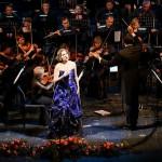 Надежда Кучер дала свой первый сольный концерт с оркестром в Пермском театре оперы и балета/ Фото - Антон Завьялов