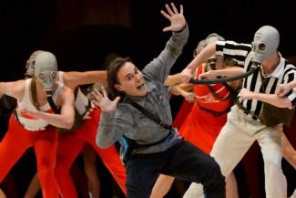 В Москве прошел спектакль Пермского театра оперы и балета «Оранго. Условно убитый». Фото - РИА Новости