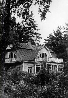 Дача С. С. Прокофьева на Николиной Горе. 1954 год