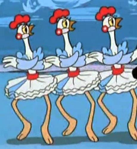 Фрагмент «Лебединого озера» — «Танец маленьких лебедей» — легко узнают люди независимо от их пола и возраста. Существует огромное количество версий и пародий на этот балетный номер, и одна из них была показана в любимом мультфильме советских и российских детей. Что это за мультфильм?