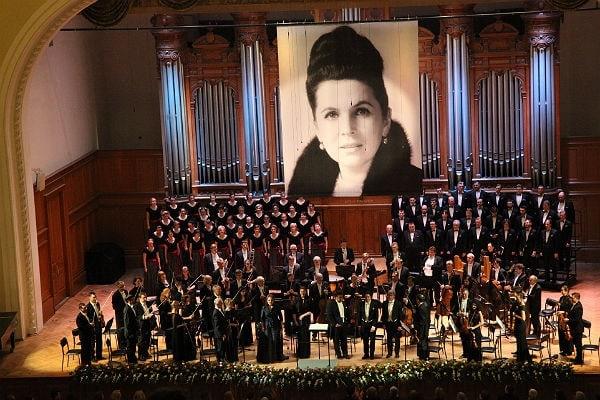 Фестиваль Ростроповича открылся исполнением Реквиема Моцарта. Фото - Сергей Бирюков