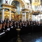 Московский Синодальный хор выступил в Зале имени Чайковского